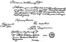 Lettera autografa di Spinoza a Leibniz.[12]
