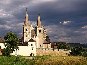 Place of authentication - Collegiate church at Szepeshely (Spišská Kapitula, Slovakia)