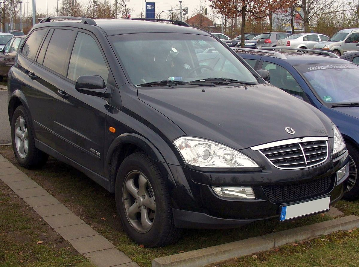 Manual ssangyong actyon 2007