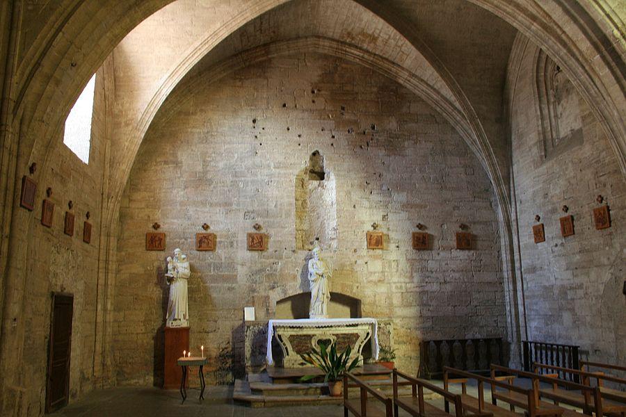 Saint-Thibéry (Hérault) - Église Sainte-Marie-de-la-Salvetat (chapelle latérale).