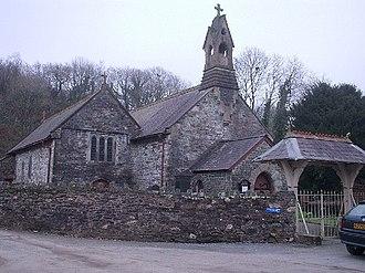 Cynwyl Elfed -  St Cynwyl's parish church