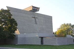 Marcel Breuer - St. Francis De Sales Catholic Church, Muskegon, Michigan 1966