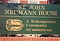 St. John Neumann House sign.jpg