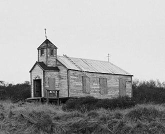 National Register of Historic Places listings in Dillingham Census Area, Alaska - Image: St. Nicholas Church, Ekuk, Alaska