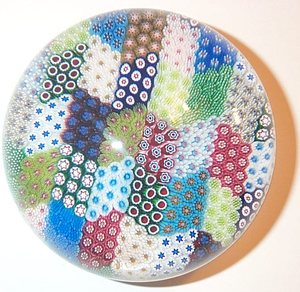 Paperweight - Modern (1994) St. Louis Taracco Carpet Ground
