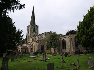 St Mary's Church, Attenborough - Image: St Mary Attenborough