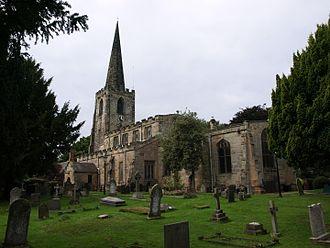 St Mary's Church, Attenborough - Image: St Mary Attenborough