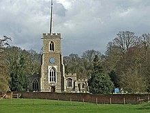 St Andrew's Church, Much Hadham, Hertfordshire - geograph.org.uk - 144760.jpg
