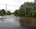 St Andrew's Road flooded by Tin Brook after Hurricane Irene.jpg