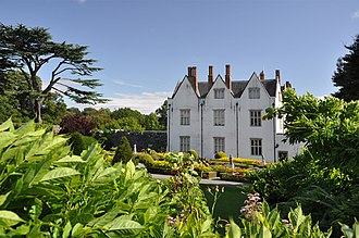 St Fagans National Museum of History - St Fagans Castle in its grounds