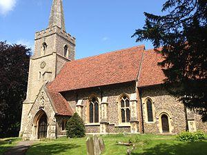 Great Hallingbury - St Giles church in Great Hallingbury