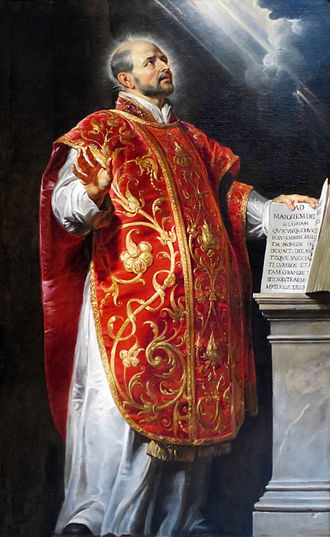 Ignatius of Loyola - Portrait by Peter Paul Rubens
