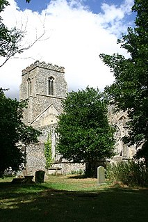 St John the Baptists Church, Stanton Church in Suffolk, England