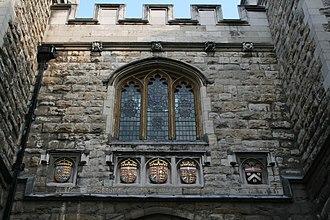 St John's Gate, Clerkenwell - Image: St John's Gate 2007 7