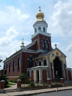 McAdoo, Pennsylvania - St. Mary's Ukrainian Catholic Church.