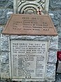 St Peter's Church Catholic Church, Dalbeattie, Kirkcudbrightshire, Scotland. Parish War Memorial. 01.jpg