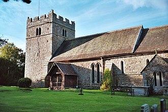 Rushbury - Image: St Peter's Parish church, Rushbury geograph.org.uk 223021
