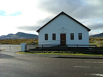 Free Church of Scotland (Continuing) - The FCC church building in Staffin.