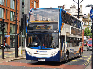 Brian Souter - Stagecoach Manchester bus