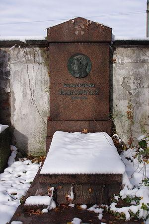 Stanisław Barcewicz - Stanisław Barcewicz's grave at the Powązki Cemetery in Warsaw
