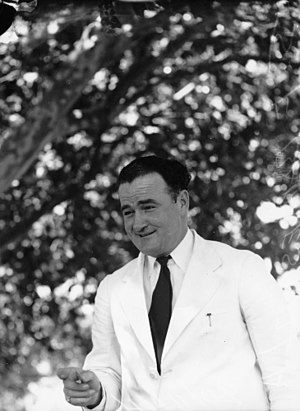 Frank Barnes (politician) - Image: State Lib Qld 1 103558 Member for the Legislative Assembly J. F. Barnes, 1941
