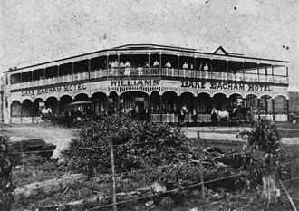 Yungaburra - Image: State Lib Qld 1 117728 Williams' Lake Eacham Hotel, 1912