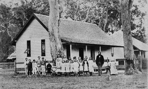 StateLibQld 1 132023 Pimpama State School, Queensland, ca. 1878