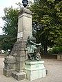 Statue Wladimir Gagneur, Poligny, Jura, France.jpg