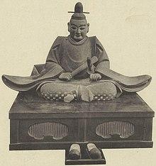Estatua de Oda Nobuhide en Banshō-ji.jpg
