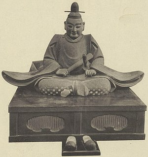Statue of Oda Nobuhide at Banshō-ji.jpg