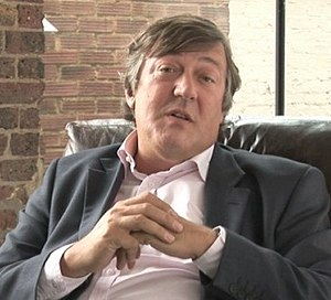 Schauspieler Stephen Fry