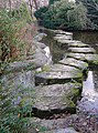Stepping Stones, Highfields Park - geograph.org.uk - 680878.jpg