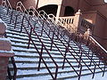 Steps from Witton Lane going up to the Holte End at Villa Park.jpg