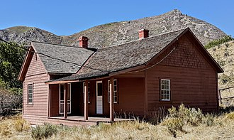 National Register of Historic Places listings in Duchesne County, Utah - Image: Stockmore Ranger Station