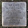 Stolperstein Alt-Wittenau 38 (Wittn) Alfred Karl Hentschel.jpg