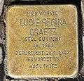 Stolperstein Dernburgstr 55 (Charl) Lucie Regina Graetz.jpg