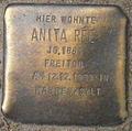 Stolperstein Fontenay 11 (Anita Rée) in Hamburg-Rotherbaum.JPG