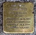 Stolperstein Heinrich-Roller-Str 22 (Prenz) Emma Spet.jpg