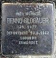 Stolperstein Württembergische Str 40 (Wilmd) Benno Glogauer.jpg