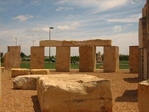 Stonehenge replica (Odessa, Texas) - Image: Stonehenge replica No. 2, Odessa, TX Picture 1854
