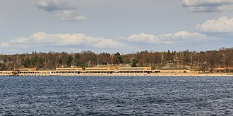 Wannsee - The beach of Wannsee (Strandbad Wannsee)