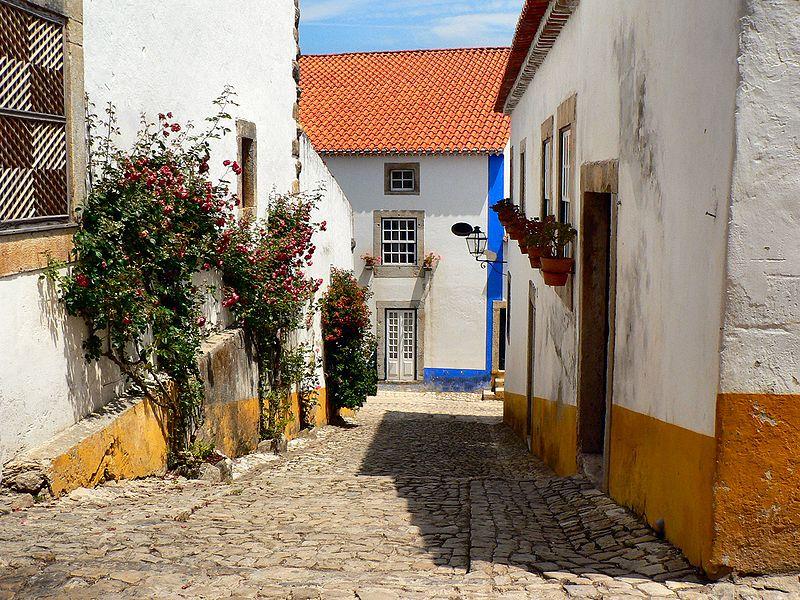 Image:Street in Óbidos 3.JPG
