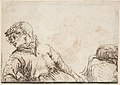 Study of a Youth with his Head Turned to the Left and Leaning on his Right Elbow MET DP801211.jpg