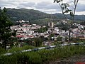 Subida do Morro da Biqunha com 863 metros de altitude. No morro está localizado o Cristo Redentor de Amparo e Parque Turístico Chico Mendes - panoramio.jpg