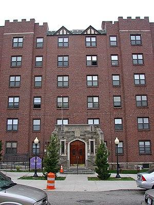 Ogontz, Philadelphia - Suffolk Manor Apartments in Ogontz, September 2010