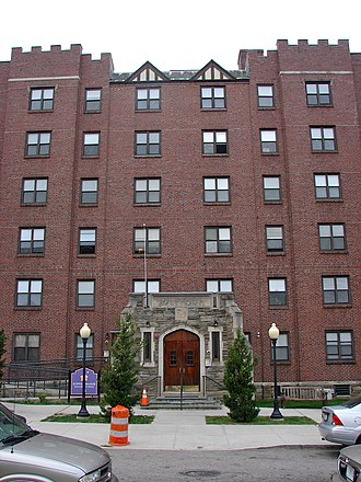 Ogontz, Philadelphia - Suffolk Manor Apartments in Ogontz, September 2010