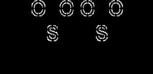 Sulfonmethane - Image: Sulfonmethane