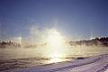 Sun dogs and ice fog on the Yukon River (8717073188).jpg