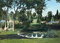 Sunken terrace garden at Killenworth - George Dupont Pratt house - Glen Cove New York - 1918.jpg