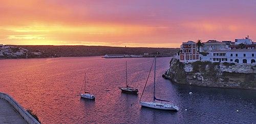 Sunrise at Cala Corb, Es Castell, Menorca.jpg